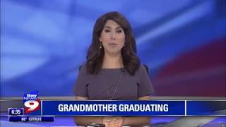 HCC in the News: Bay News 9 - Tampa grandmother set to graduate from college