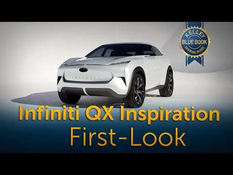 Infiniti QX Inspiration Concept - First Look