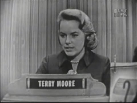 What's My Line?  Terry Moore Mar 20, 1955