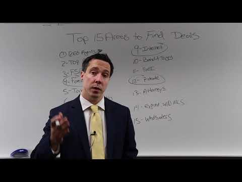 Top 15 areas to find motivated sellers