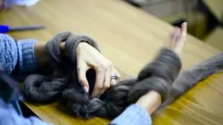 Arm Knitting tutorial | Інструкція для в'язання пальцями