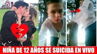 NIÑA SE SUICIDA EN VIVO (la verdad detrás) - Nath y Ramiro MÁS PROBLEMAS