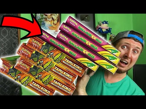 I BOUGHT A HUGE TOWER OF POKEMON BOXES! Opening XY Packs & New Cards
