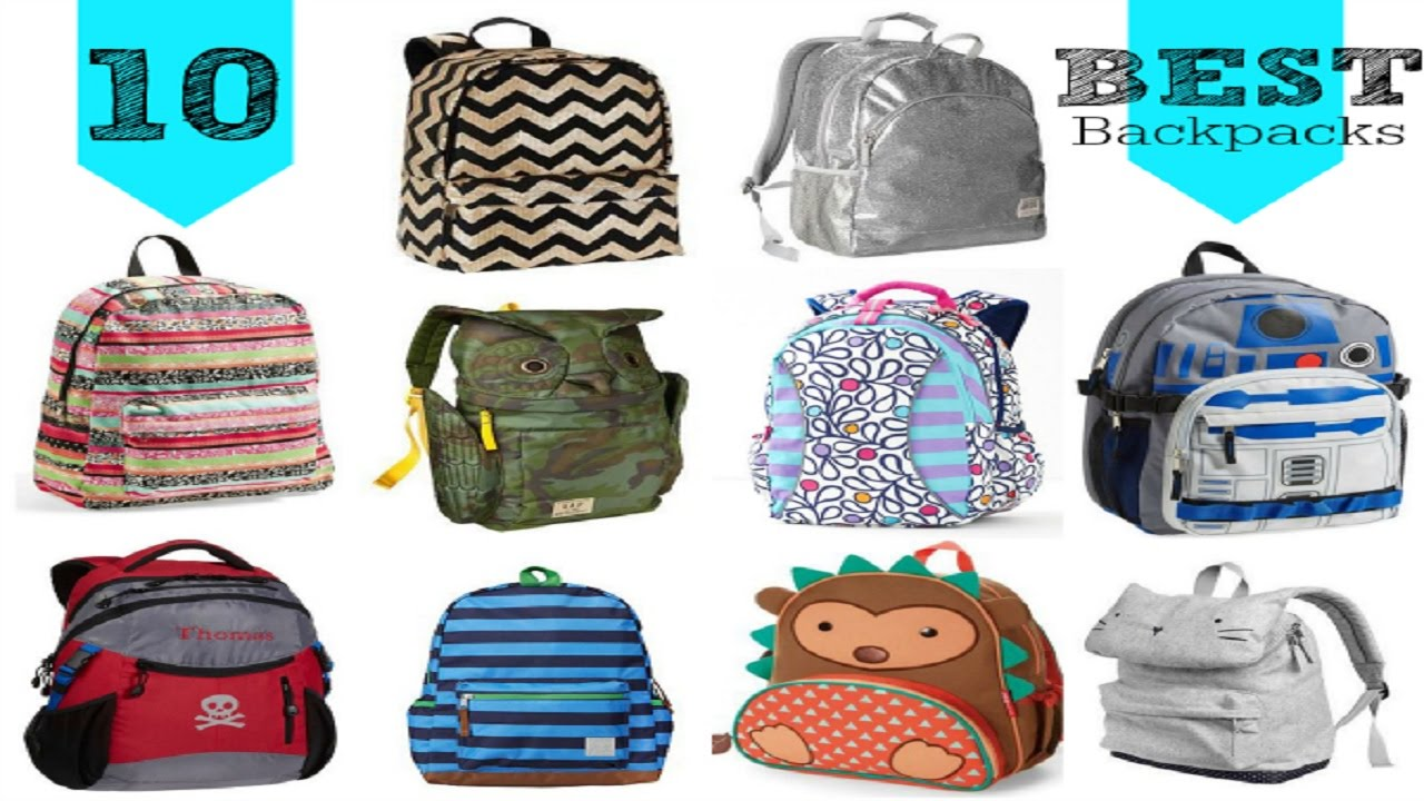 Best Top 10 Kids Backpacks Cool Personalized and Rolling School ...