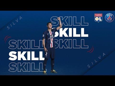 SKILL / GESTE TECHNIQUE : THIAGO SILVA - LYON Vs PARIS SAINT-GERMAIN