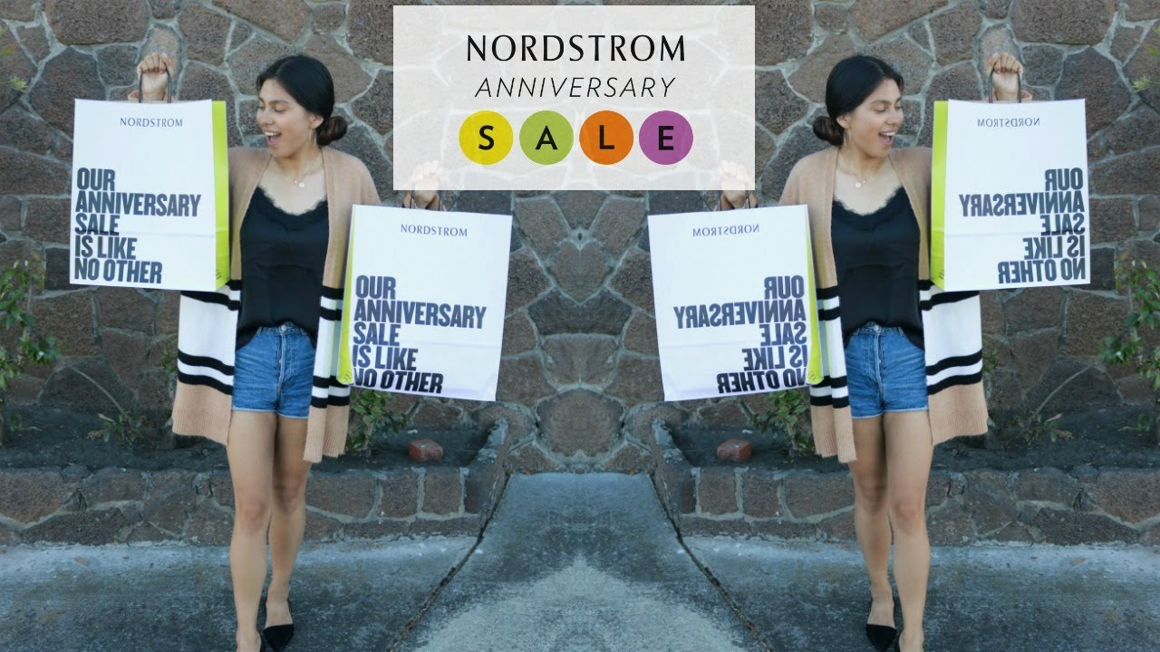 Nordstrom anniversary sale haul try on ana duarte youtube