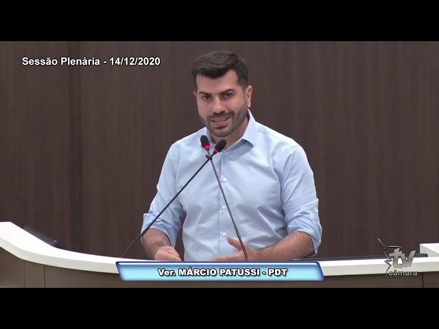 Plano de Vacinação Municipal 14.12.2020 | Marcio Patussi