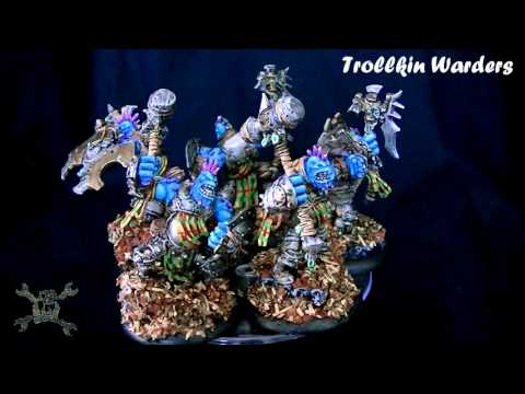Vitrine de la Forge : Trollkin Warders