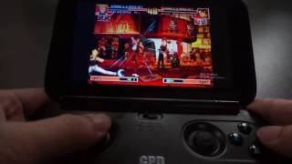 GPD WIN Game Test   The King Of Fighters 97