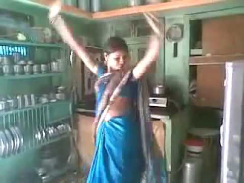 Village Woman Dancing At Kitchen Best Sambalpuri Dance