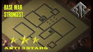 WAR BASE TH 9 [ STRONGEST ] ANTI 3 STARS | CLASH OF CLANS