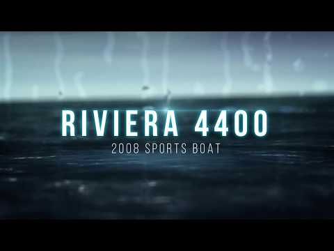 2008 Riviera 4400 Sport Boat for Sale by Online Boat Auction