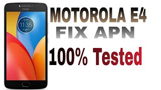 Download Moto E4 Sprint Xt1766 Fix Apn And 3g 4g Mobile