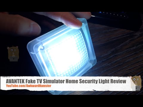Avantek fake tv simulator home security light review youtube mozeypictures Image collections