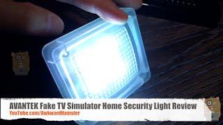 Konig Fake TV Simulator LED Theif Deterent Home Security New