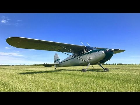 One of the best days of my life-Buying a Cessna 170