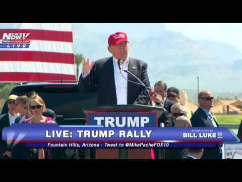 FULL: Donald Trump Rally - Fountain Hills, Arizona 3-19-16