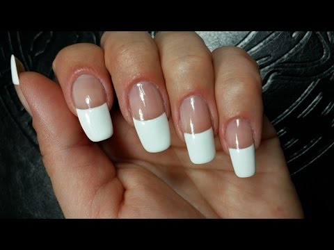 Easy Perfect French Manicure DIY Nail Tutorial