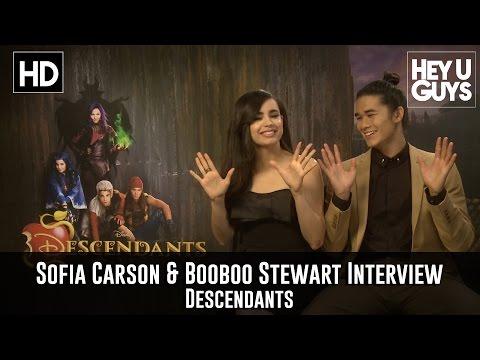 Sofia Carson & Booboo Stewart Exclusive Interview - Descendants
