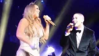 Mariah Carey, Nathaniel - One Sweet Day live Melbourne 7/11/2014 (HD)