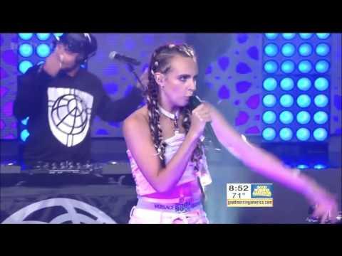 [HD] Major Lazer & DJ Snake - Lean On (feat MØ) - GMA (LIVE)