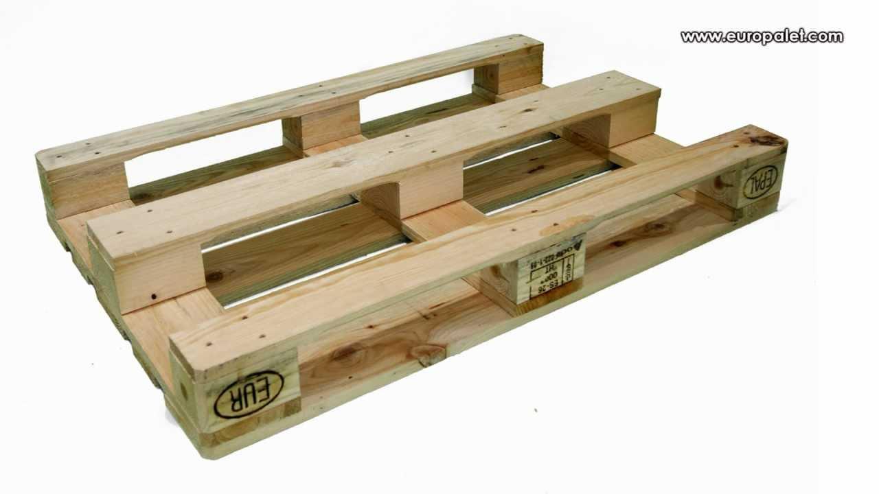 Europalets o palets europeos medidas e informaci n - Cuanto cuesta un palet de madera ...