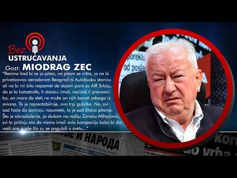 BEZ USTRUČAVANJA - Miodrag Zec: Pričamo da smo porazili NATO, a oni nam oteli Kosovo!