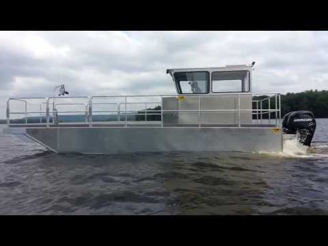 Kann Marine Work Barge Series - Bouy Tender