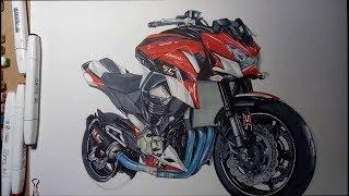 Drawing Kawasaki Z800 Version SC project 2016(ไทย)