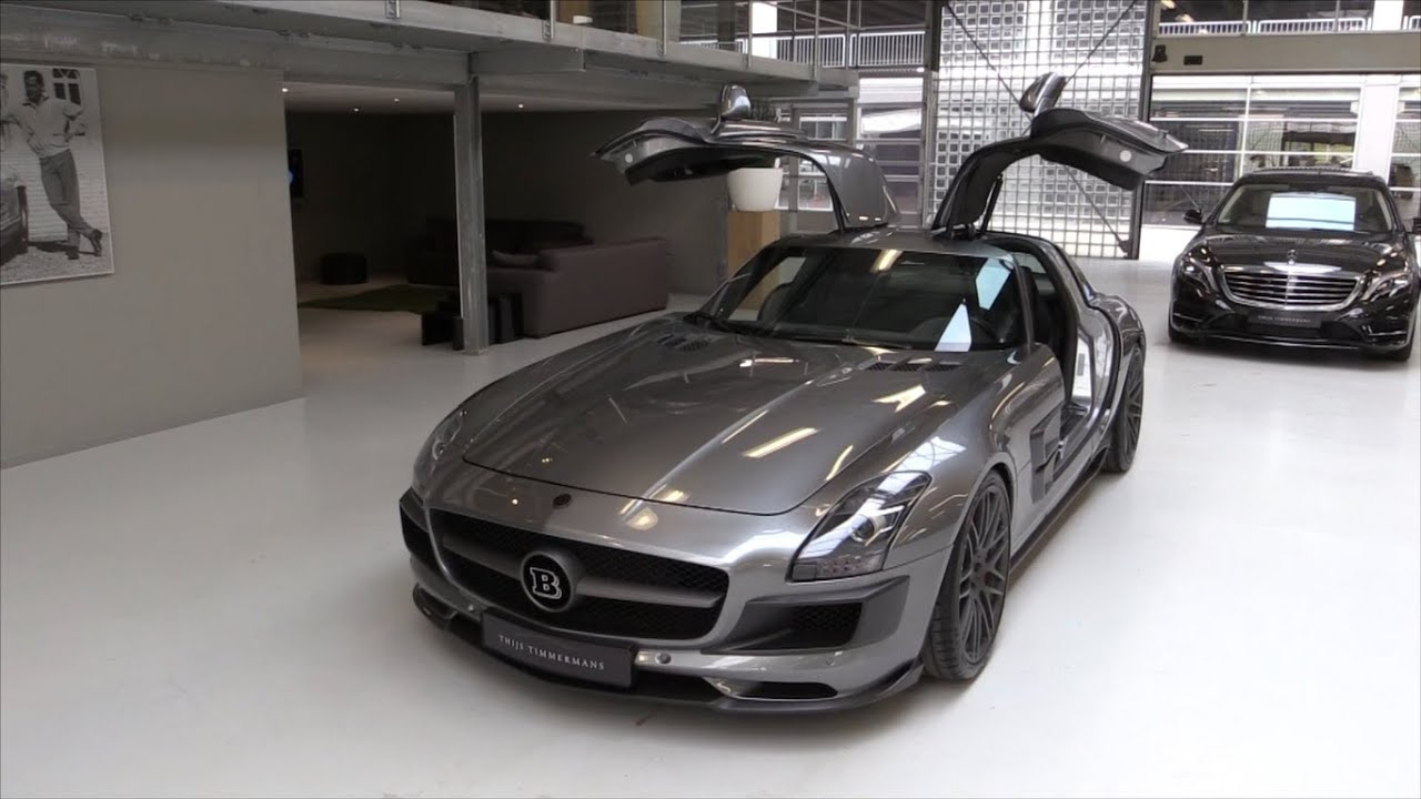 2015 BRABUS SLS AMG 700 Start Up, Exhaust, In Depth Review - YouTube