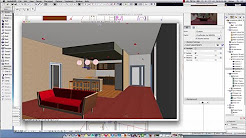 Archicad 18 Adding a Drop Ceiling, Floor and Lights