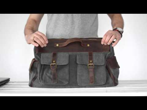 Обзор кожаной сумки JMD (DB-470)