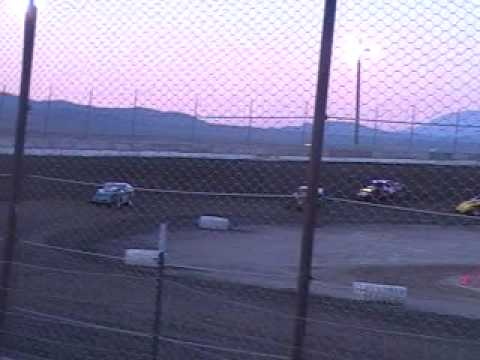 lovelock speedway Jeff Elerick imca modified heat race