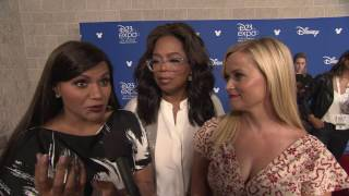 A Wrinkle In Time: Mindy Kaling, Oprah Winfrey, Reese Witherspoon D23 Interview