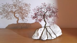 Making wire tree - fast & easy ...