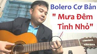 Pha Trộn Rumba và Bolero Trong - Mưa Đêm Tỉnh Nhỏ Guitar