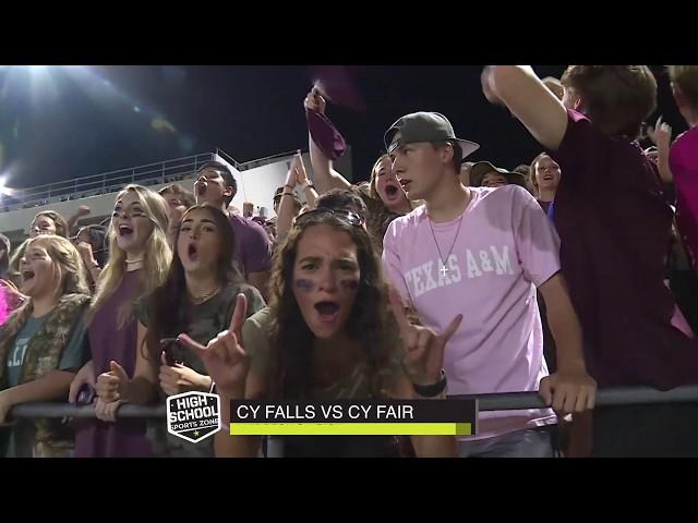 Cy Fair vs Cy Falls