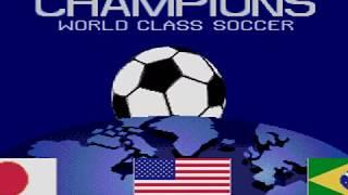 Champions World Class Soccer (Genesis Credits) 【MD】 チャンピオンズ ワールドクラスサッカー (Mega Drive)
