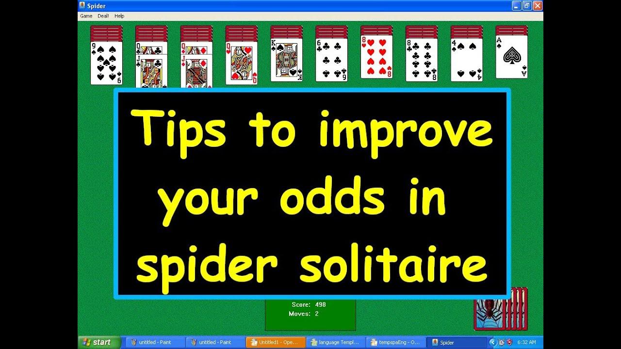 Spider Solitär Tipps