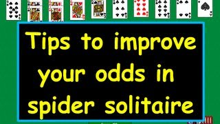 Tips for Spider Solitaire-Tutorial