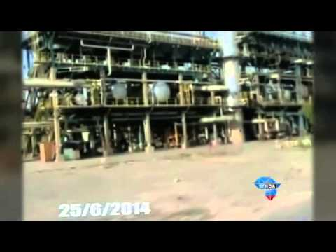 Iraqi refinery under militant fire