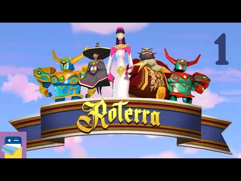 Roterra - Flip the Fairytale: iOS / Android Gameplay Walkthrough Part 1 (by Dig-It Games)
