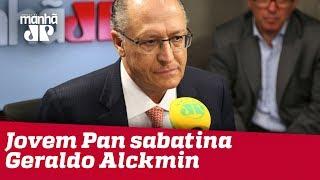 Eleições 2018 - Jovem Pan sabatina Geraldo Alckmin
