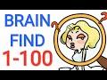Gambar cover Jawaban Game BRAIN FIND Level 1 - 100