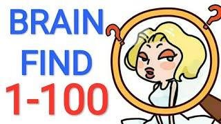 Jawaban Game BRAIN FIND Level 1 - 100