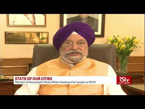 Housing Min Hardeep Singh Puri on the state of Indian cities