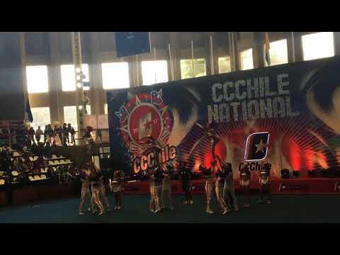 Diamond Steel 💎💙 National Champion - Cheerchallenge Chile 2017