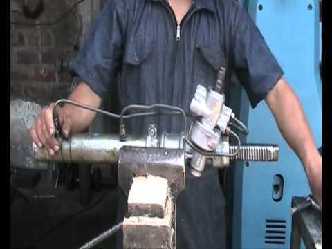Desarmado De Una Cremallera Hidraulica De Timon Youtube