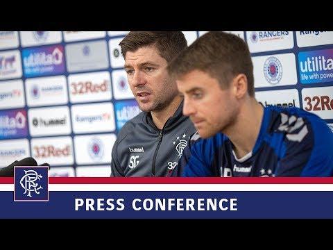 PRESS CONFERENCE | Gerrard & Rossiter | 30 Oct 2018