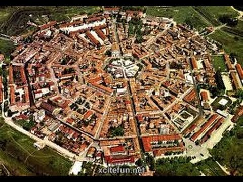 видео: Италия - Город-крепость palmanova
